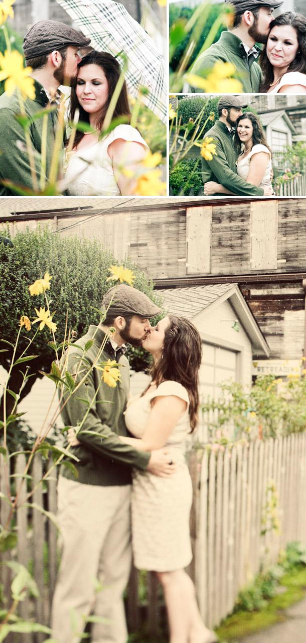 Tiffany und Dan verlobt und begleitet von Kaylee Eylander